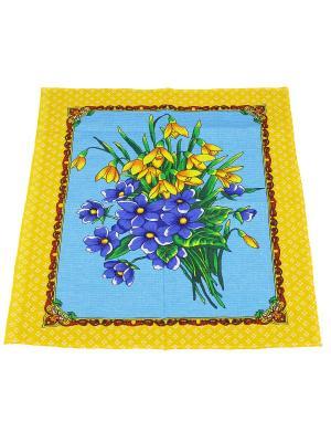 Набор полотенец Кухня 2шт Римейн. Цвет: голубой, желтый