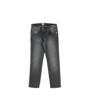 Джинсовые брюки PARROT. Цвет: серый