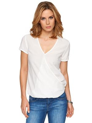 Блузка TOM TAILOR. Цвет: белый