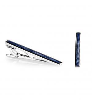 Зажим для галстука  TC-0039 NAVY HENDERSON. Цвет: синий