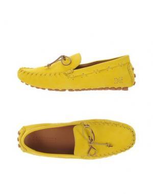 Мокасины DSQUARED2. Цвет: желтый