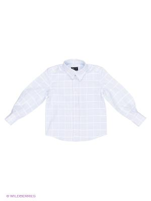 Рубашка MORU. Цвет: голубой