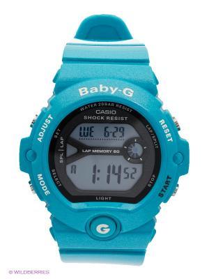 Часы Baby-G BG-6903-2E CASIO. Цвет: лазурный, черный