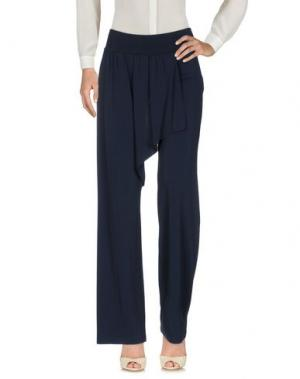 Повседневные брюки FRANCESCA FERRANTE. Цвет: темно-синий
