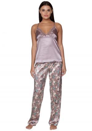 Комплект: топ + брюки Infinity Lingerie. Цвет: разноцветный (цветной)