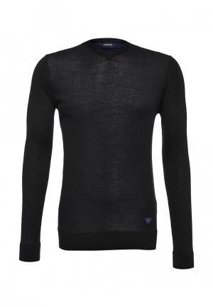 Пуловер Armani Jeans. Цвет: черный