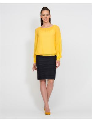 Блуза D.VA. Цвет: желтый