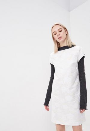Платье Artwizard. Цвет: белый