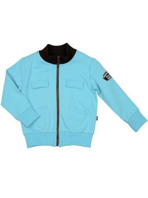 Куртка Mini Maxi. Цвет: голубой
