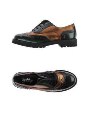 Обувь на шнурках SCOOP. Цвет: темно-зеленый