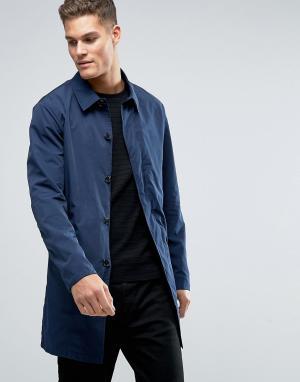 Selected Homme Макинтош. Цвет: темно-синий