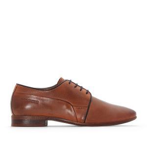 Ботинки-дерби кожаные Lagan REDSKINS. Цвет: каштановый