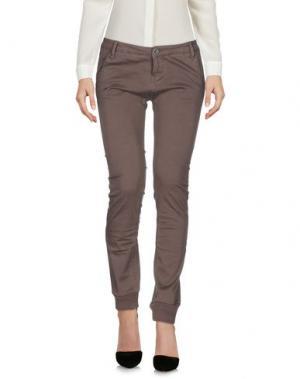 Повседневные брюки SHOCKLY. Цвет: серый