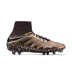 Мужские футбольные бутсы для игры на твердом грунте  Hypervenom Phantom II Nike. Цвет: коричневый