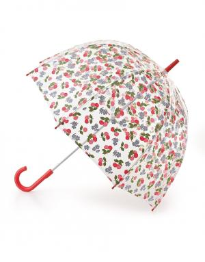 Зонт-трость Вишня  by Fulton Cath Kidston. Цвет: красный