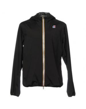 Куртка K-WAY. Цвет: черный
