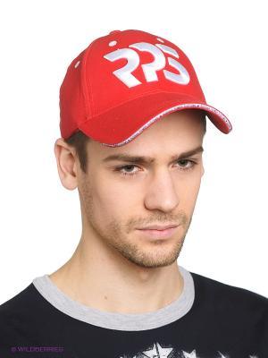 Бейсболка RPS. Цвет: красный