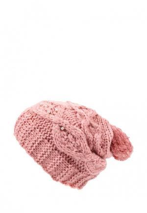 Шапка Sela. Цвет: розовый