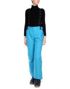 Лыжные брюки VUARNET. Цвет: бирюзовый