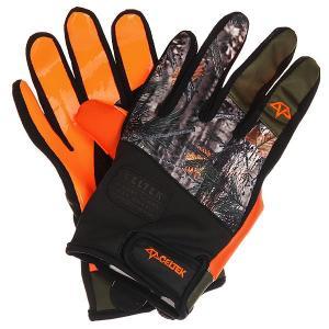 Перчатки сноубордические  Misty Glove Backwoods Celtek. Цвет: черный,оранжевый,мультиколор