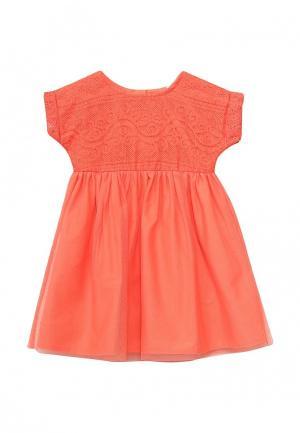 Платье Z Generation. Цвет: оранжевый