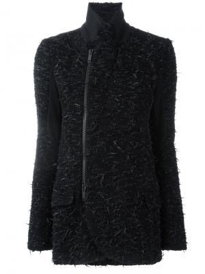 Асимметричная куртка A.F.Vandevorst. Цвет: чёрный