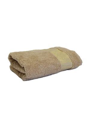 Полотенце махровое PROFFI HOME Классик, 30х50см, бежевый. Цвет: бежевый
