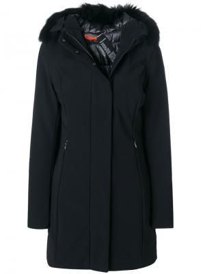 Пальто-парка с капюшоном Rrd. Цвет: чёрный