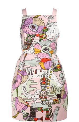Платье Mary Katrantzou. Цвет: разноцветный