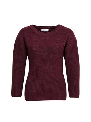 Джемпер Escuela Wooly's. Цвет: бордовый