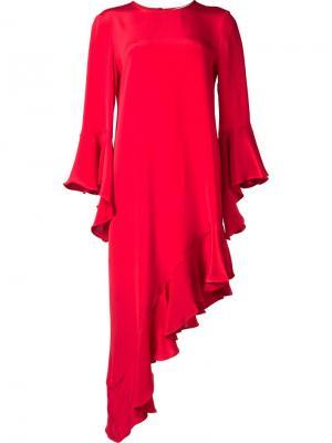 Платье Hazel Alexis. Цвет: красный