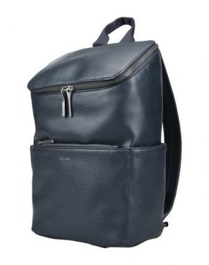 Рюкзаки и сумки на пояс MATT & NAT. Цвет: темно-синий
