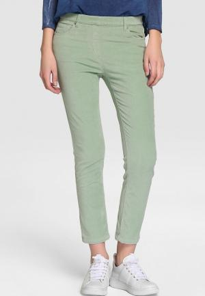 Леггинсы Southern Cotton Jeans. Цвет: зеленый