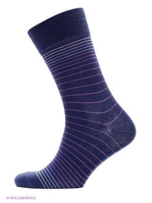 Носки, комплект 5 пар Uomo Fiero. Цвет: сиреневый