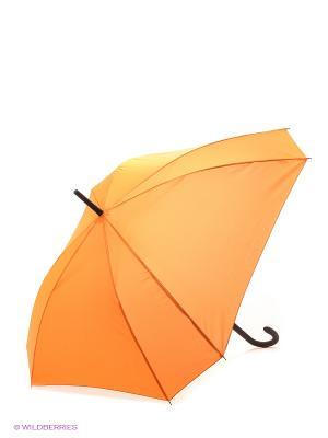 Зонт трость RAINDROPS. Цвет: оранжевый