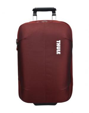 Чемодан/сумка на колесиках THULE®. Цвет: кирпично-красный
