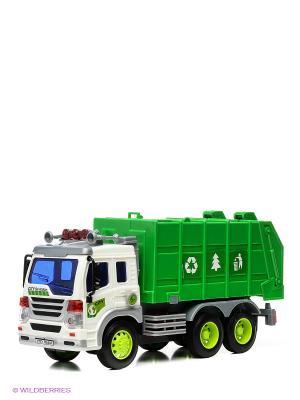 Грузовик-мусоровоз Drift. Цвет: зеленый
