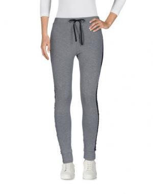 Повседневные брюки BACI RUBATI. Цвет: серый