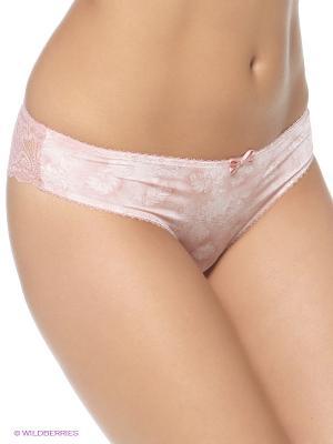 Трусы-слип Rose&Petal. Цвет: бледно-розовый