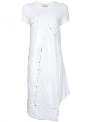 Sequin dress A.F.Vandevorst. Цвет: белый