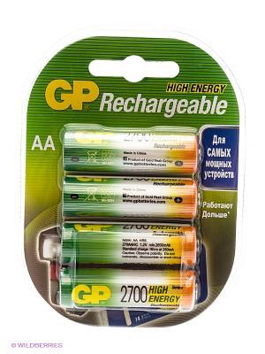 Аккумулятор NiMH 270AAHC 2700mAh AA GP. Цвет: серебристый