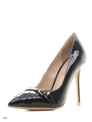 Туфли Renaissance. Цвет: черный