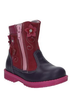 Ботинки El Tempo. Цвет: фиолетовый