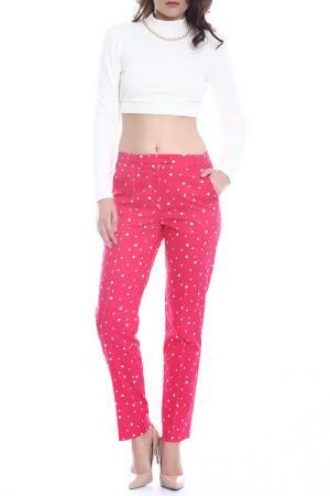 Брюки Emma Monti. Цвет: pink