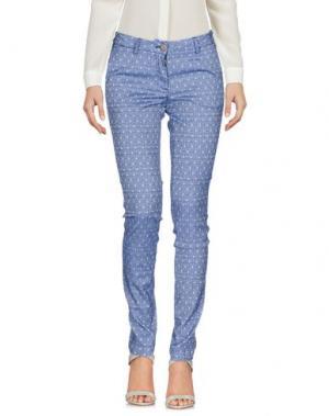 Повседневные брюки VERYSIMPLE. Цвет: синий