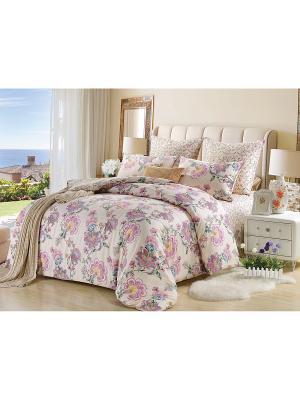 Комплект постельного белья, Марта, Семейный KAZANOV.A.. Цвет: молочный
