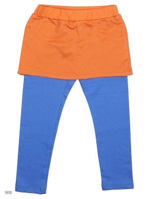 Леггинсы Dorothy's Home. Цвет: голубой, оранжевый