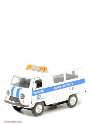 Машина Полиция дежурная часть Технопарк. Цвет: белый