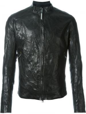 Куртка с мятым эффектом Isaac Sellam Experience. Цвет: чёрный