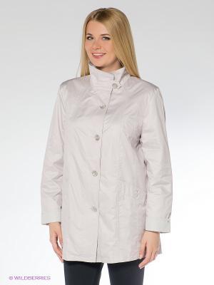 Куртка WEGA. Цвет: бледно-розовый